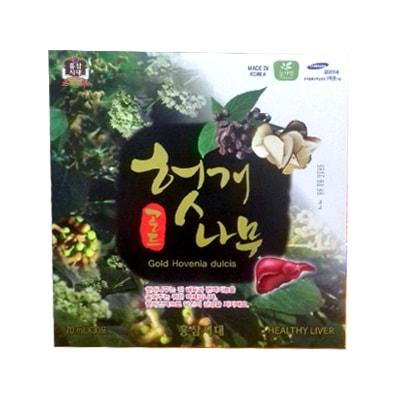 Nước bổ gan giải rượu Hovenia Dulcis Gold Pocheon của Hàn Quốc