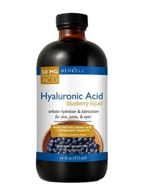 Tinh chất nước việt quất Neocell Hyaluronic Acid Blueberry Liquid 473ml Của Mỹ