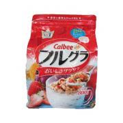 Ngũ cốc trái cây sấy khô Calbee 800g của Nhật Bản