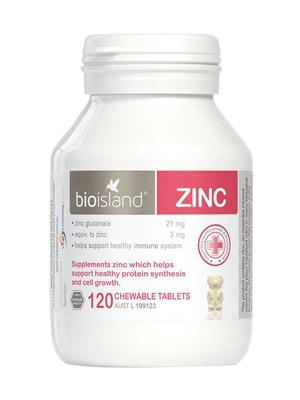 Viên Uống Bổ Sung Kẽm Cho Trẻ Bio Island Zinc 120 Viên Của Úc