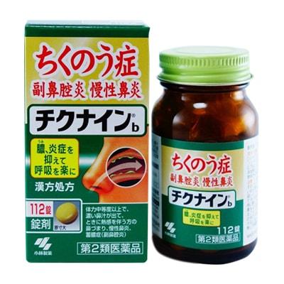 Thuốc đặc trị viêm xoang Kobayashi Chikunain 112 viên của Nhật Bản