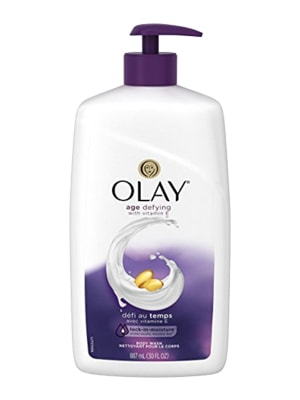 Sữa tắm Olay Age Defying with Vitamin E 887ml của Mỹ