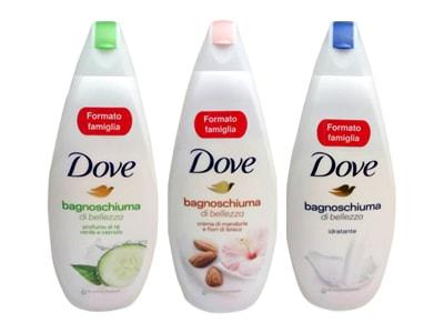 Sữa tắm dưỡng ẩm Dove Bagnoschiuma 700ml của Mỹ