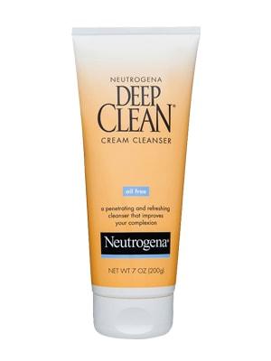 Sữa rửa mặt trị mụn Neutrogena Deep Clean Cream Cleanser 200g