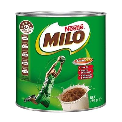 Sữa bột Nestle Milo 750g của Úc – Hàng chính hãng