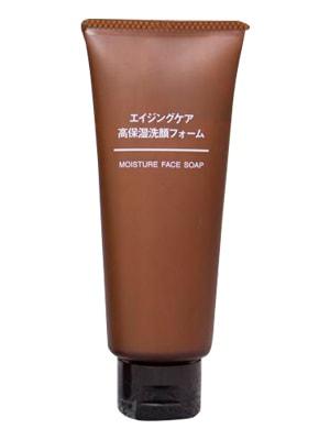Sữa rửa mặt chống lão hóa Muji Moisture Face Soap 100g của Nhật