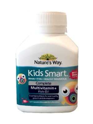 Nature s way kids smart complete multivitamin high dha for High dha fish oil