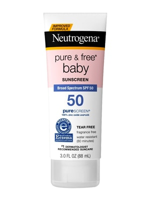 Kem chống nắng neutrogena pure and free baby spf 50 của Mỹ