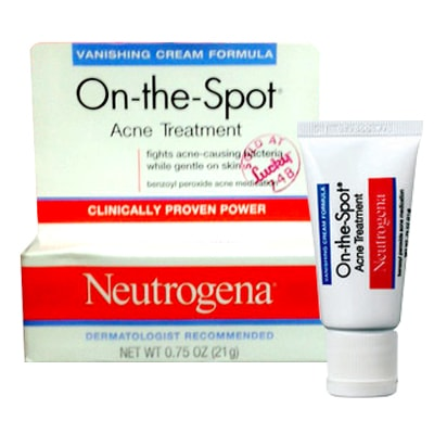 Kem trị mụn Neutrogena On-The-Spot Acne Treatment 21g của Mỹ