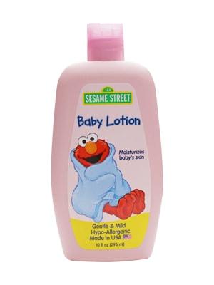 Sữa dưỡng thể cho bé Sesame Street Baby Lotion 296ml của Mỹ