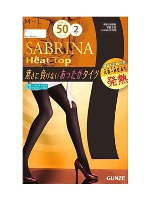 Quần tất sinh nhiệt Sabrina Heat Top 50D của Nhật Bản