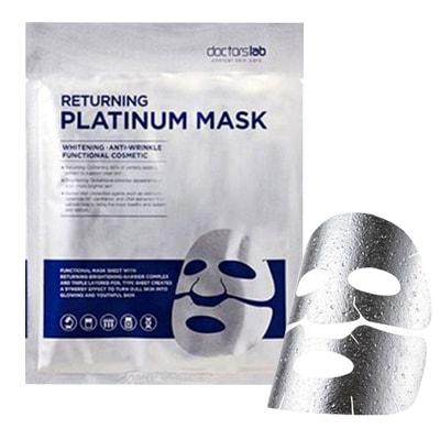 Mặt nạ dưỡng trắng da Doctorslab Returning Platinum Mask Hàn Quốc
