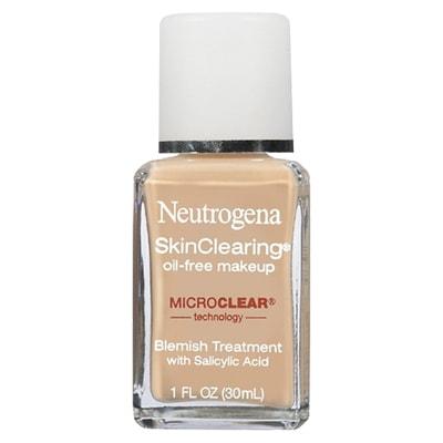 Kem nền cho da mụn Neutrogena SkinClearing Oil-free Makeup 30ml