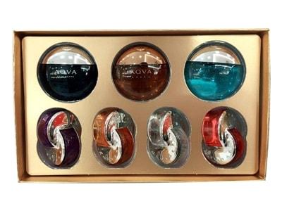 Set nước hoa Bvlgari 7 chai mini 5ml của Ý-hàng chính hãng
