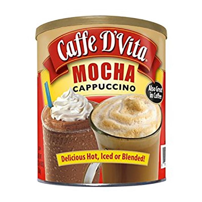 Bột cà phê hòa tan Caffe D'Vita Mocha Cappuccino 1,8kg