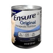 Sữa Ensure Original nước hương Vanilla 237ml, nhập khẩu từ Mỹ