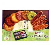 Bánh gạo cao cấp Tivoli Tivon 10 vị 76 cái của Nhật Bản
