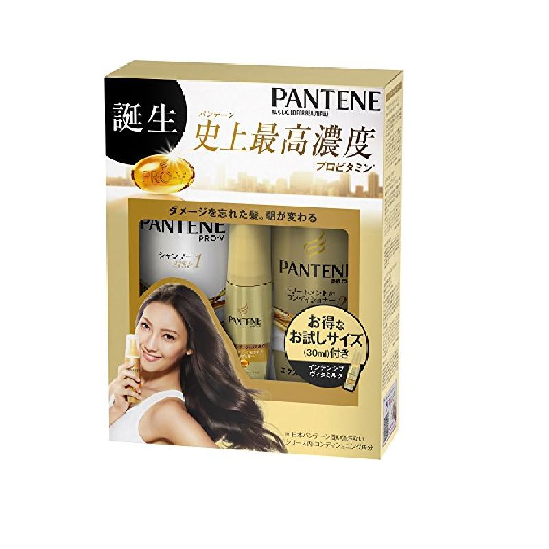 Bộ 3 sản phẩm chăm sóc tóc Pantene Pro-V của Nhật Bản