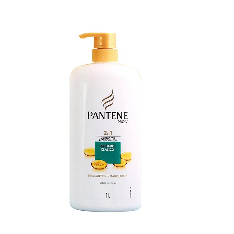 Dầu gội kết hợp xả Pantene Pro-V 2 in 1 Control Caida 1 lít của Mỹ