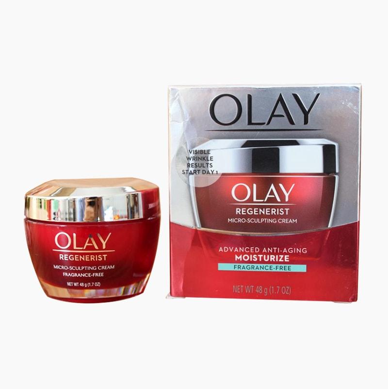 Kem dưỡng ẩm chống lão hóa Olay Regenerist Micro-Sculpting Cream 48g