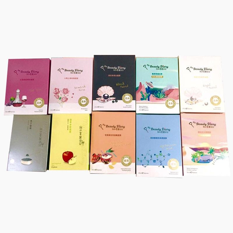 Mặt nạ My Beauty Diary của Đài Loan, hộp 8 miếng
