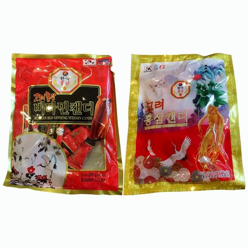 Kẹo hồng sâm con hạc Red Ginseng Candy 200g Hàn Quốc