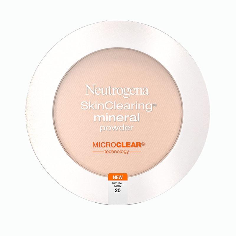 Phấn phủ cho da mụn Neutrogena SkinClearing Mineral Powder của Mỹ