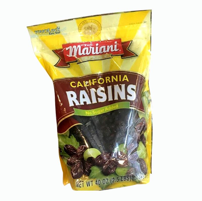 Nho khô Mariani Raisins California 1,13kg của Mỹ