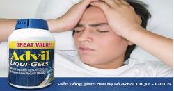 Thuốc Advil là thuốc gì? Công dụng ít ai biết của Advil Mỹ