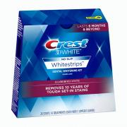 Miếng dán trắng răng Crest 3D White No Slip Whitestrips Lasts 6 months