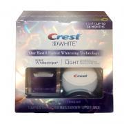 Bộ sản phẩm tẩy trắng răng Crest 3D White No Slip Whitestrips With Light