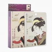 Mặt nạ dưỡng da Mitomo Mask hình cô gái Nhật Bản, hộp 10 miếng