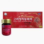 Cao linh chi đỏ Hàn Quốc Korean Lingzhi Mushroom Extract, hộp 5 lọ