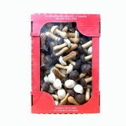 Bánh quy nấm socola trắng và đen 300g của Nga