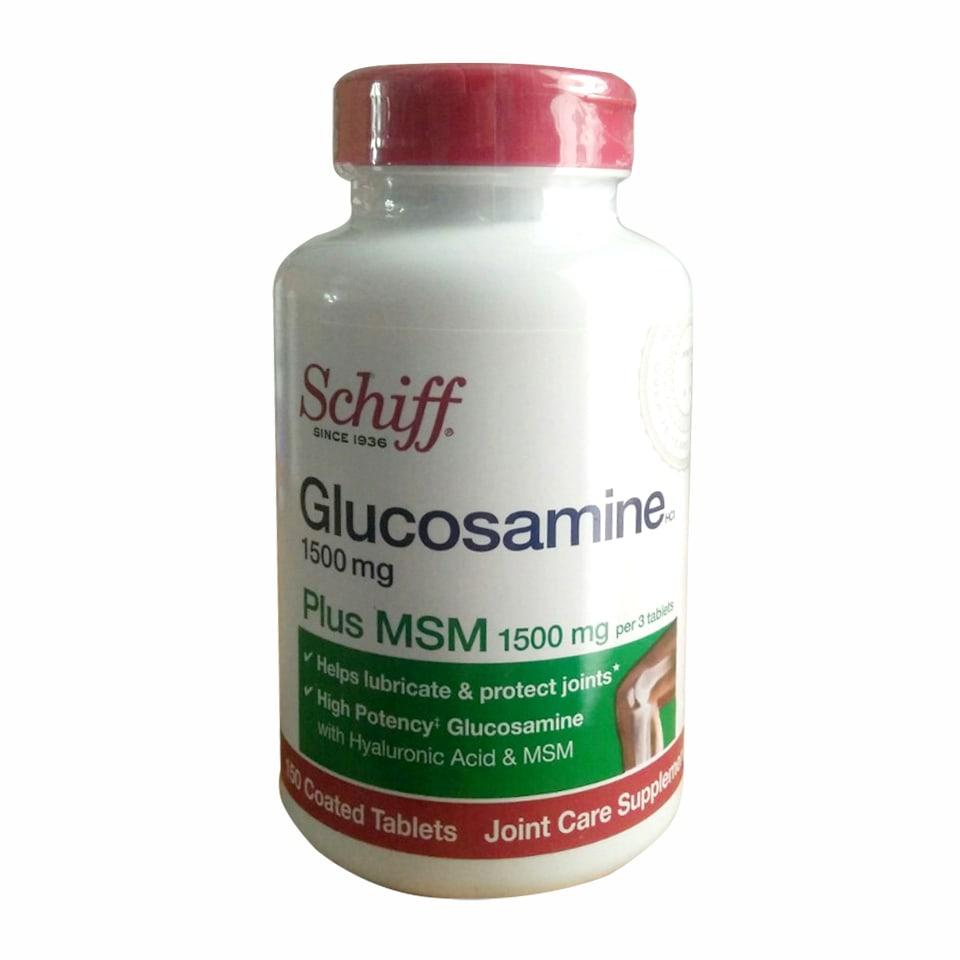 Schiff Glucosamine 1500mg Plus MSM 1500mg của Mỹ