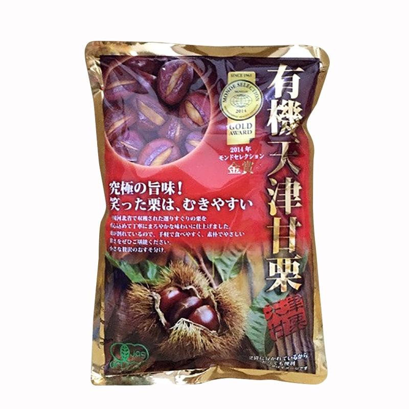 Hạt dẻ hấp cao cấp của Nhật Bản gói 260g