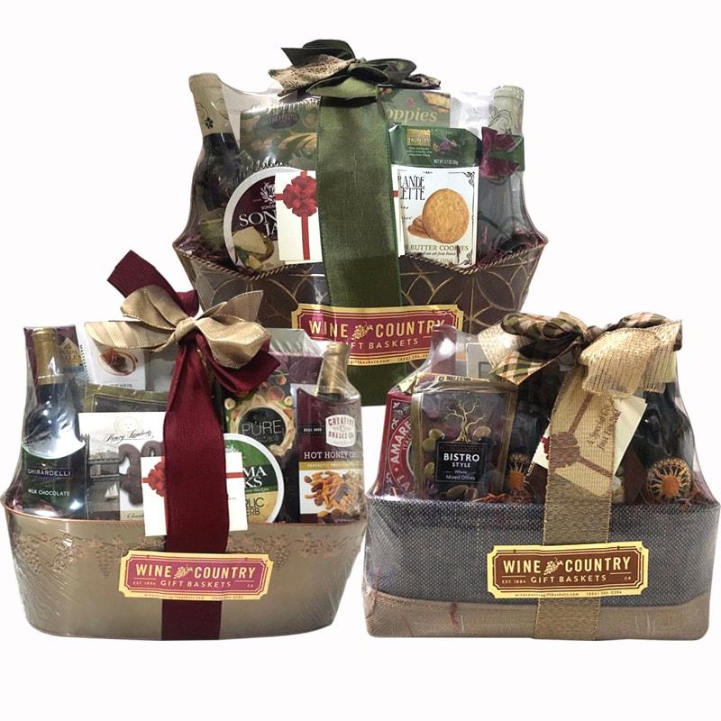 Giỏ quà Tết sang trọng Wine Country Gift Baskets của Mỹ