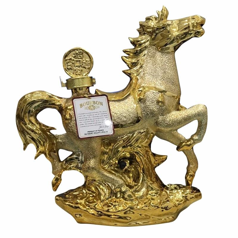 Rượu phong thủy con ngựa Bourbon Whisky 15 năm của Pháp