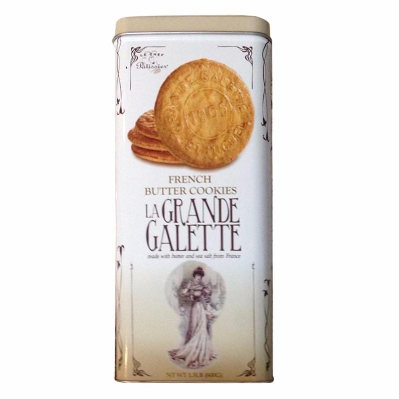 Bánh quy bơ La Grande Galette French Butter Cookies 600g của Pháp