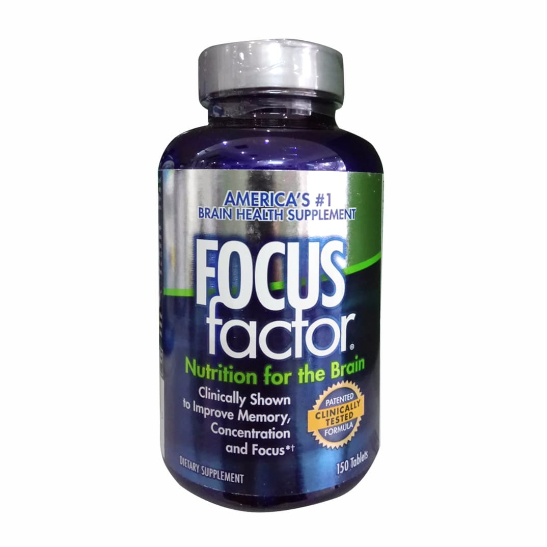 Viên Uống Bổ Não focus factor nutrition for the brain 150 tablets Mỹ