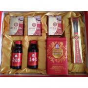 Bộ quà tặng hồng sâm cao cấp của Hàn Quốc, sét 7 món