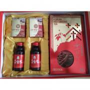 Bộ quà tặng nhân sâm Hàn Quốc, sâm lát, trà sâm, nước sâm