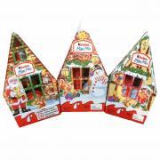 Kẹo socola ngôi nhà Noel Kinder Mini Mix 79g của Đức