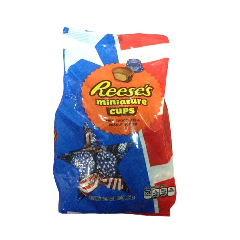 Socola sữa bơ đậu phộng Reese's Miniature Cups 1,02kg của  Mỹ