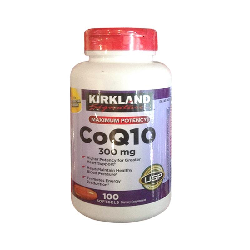 CoQ10 300mg Kirkland Của Mỹ - Thuốc Hỗ Trợ Tim Mạch