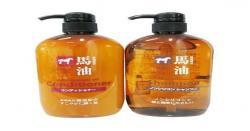 Dầu gội đầu mỡ ngựa của Nhật Horse Oil Review