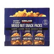 Hạt hỗn hợp rang muối Kirkland Mixed Nut Snack Pac...