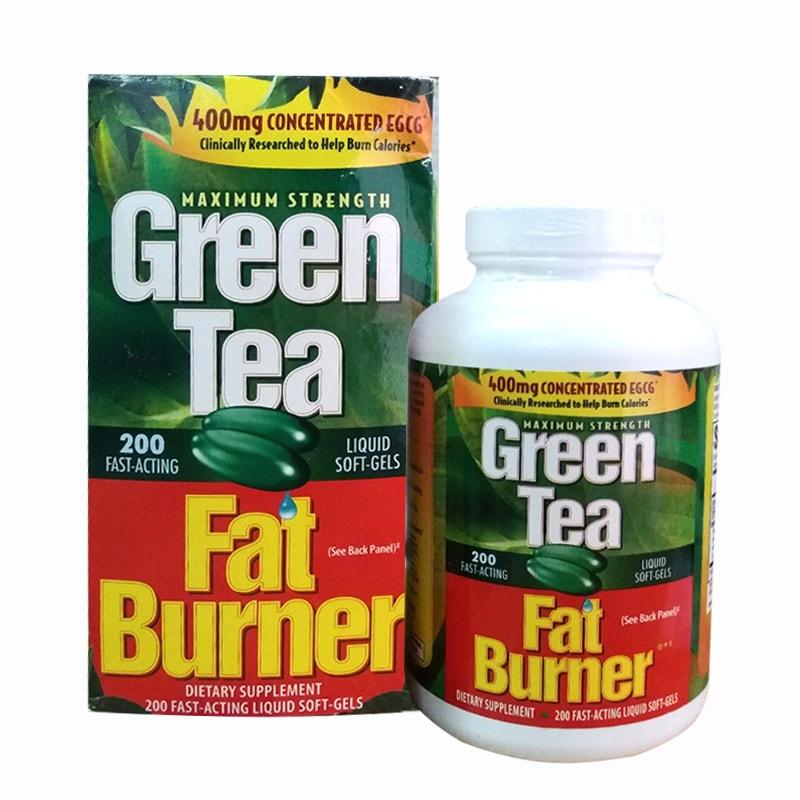 Green tea 200 viên