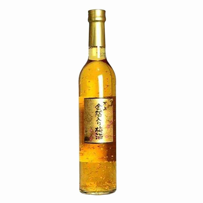 Rượu Mơ Vẩy Vàng Kikkoman 500ml Của Nhật