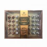 Socola nhân rượu hộp gỗ Jim Beam Remy Martin VSC 40 chai của Mỹ